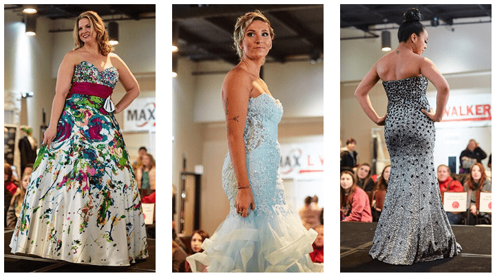ultra chic boutique model call for dress raffle fashion show