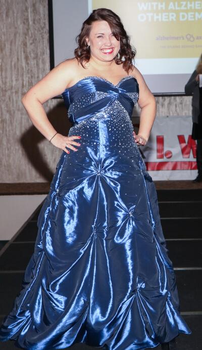 ultra chic boutique dress raffle fashion show model call cassie