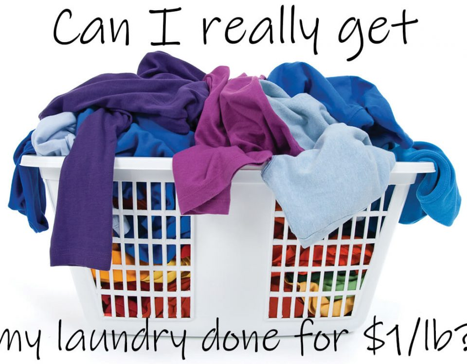 Can I really get my laundry done for $1/lb?