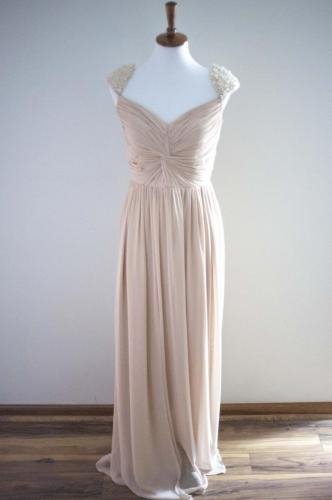 Max I. Walker Ultra Chic Boutique Gold Prom Dress